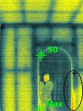 Infrared Building Wall Frame Image